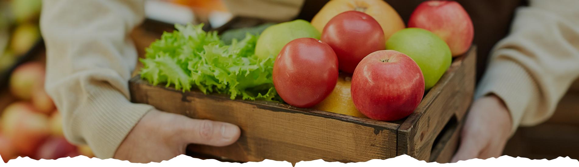סלי ירקות ופירות - משק מיכאלי - סלי ירקות ופירות