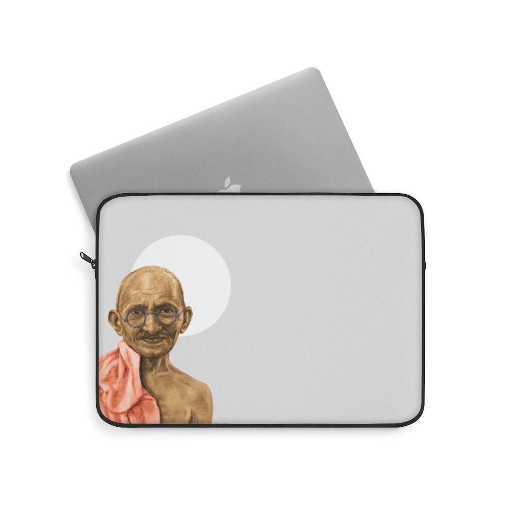 תיק למחשב נייד- מהטמה  גנדי
