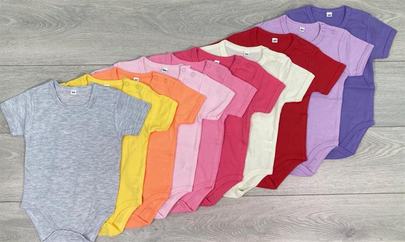 10 בגדי גוף קצרים ורודים