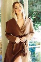 מעיל  ג׳ניפר חום