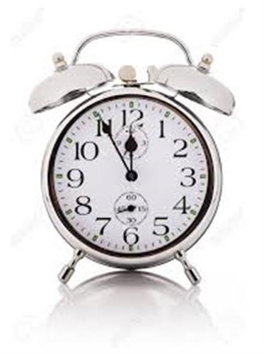 """שעון מעורר מכני גולף  823 GOLF מידה 8 ס""""מ"""