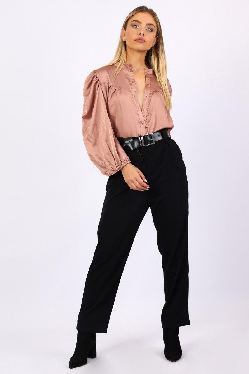 מכנס מחוייט שחור