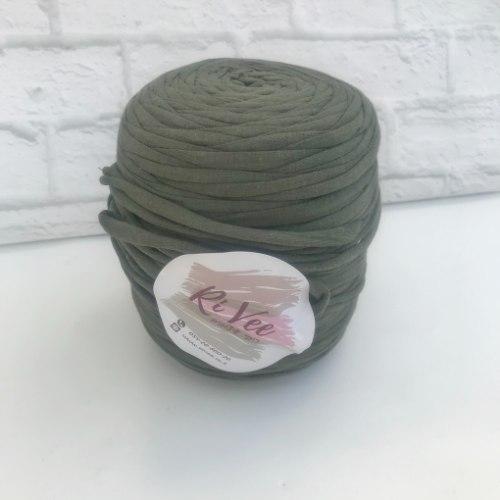 חוט טריקו בגליל צבע ירוק חאקי