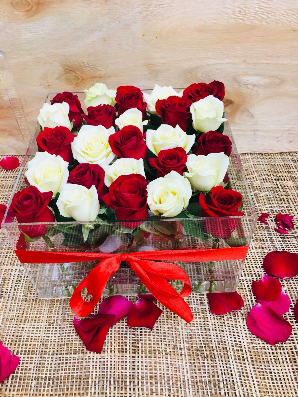 קופסת ורדים מעוצבת-0002