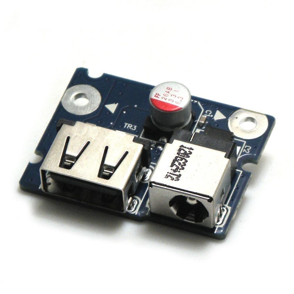 כרטיס שקע טעינה לנובו G580 DC DC-IN Connector Power Jack USB Port Board 553SG03.001 553SH03.001