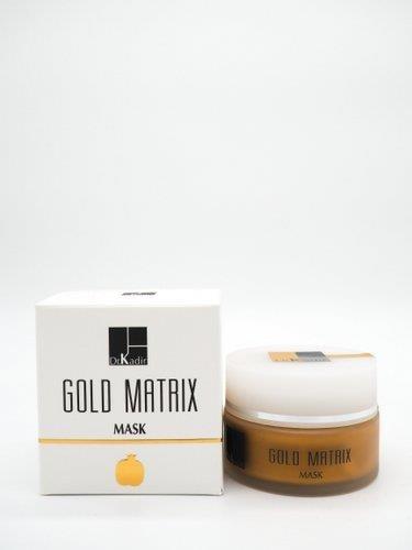 """מטריקס- מסכת זהב לחות והזנה לעור רגיל עד יבש- עם תמצית רימונים- ד""""ר כדיר"""