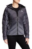 מעיל פוך נשים נורט פייס מדגם The North Face Women's Fuseform Dot Matrix Hooded jacket TNF black