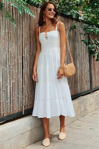 שמלת מידי מיקונוס