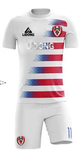 תלבושת דמוי מעוצבת לבנה (כמו נבחרת אמריקה)