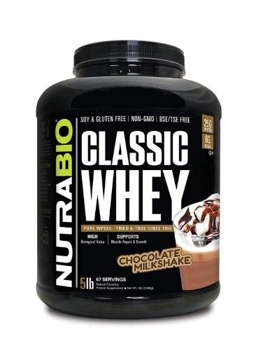 אבקת חלבון NUTRABIO CLAASIC WHEY 2.3 כשר