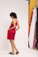 מכנסי CLASSIC קצרים - בורדו