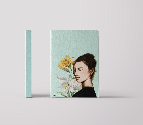 מארז 5 מחברות - סאקי אשה יפנית פרחים
