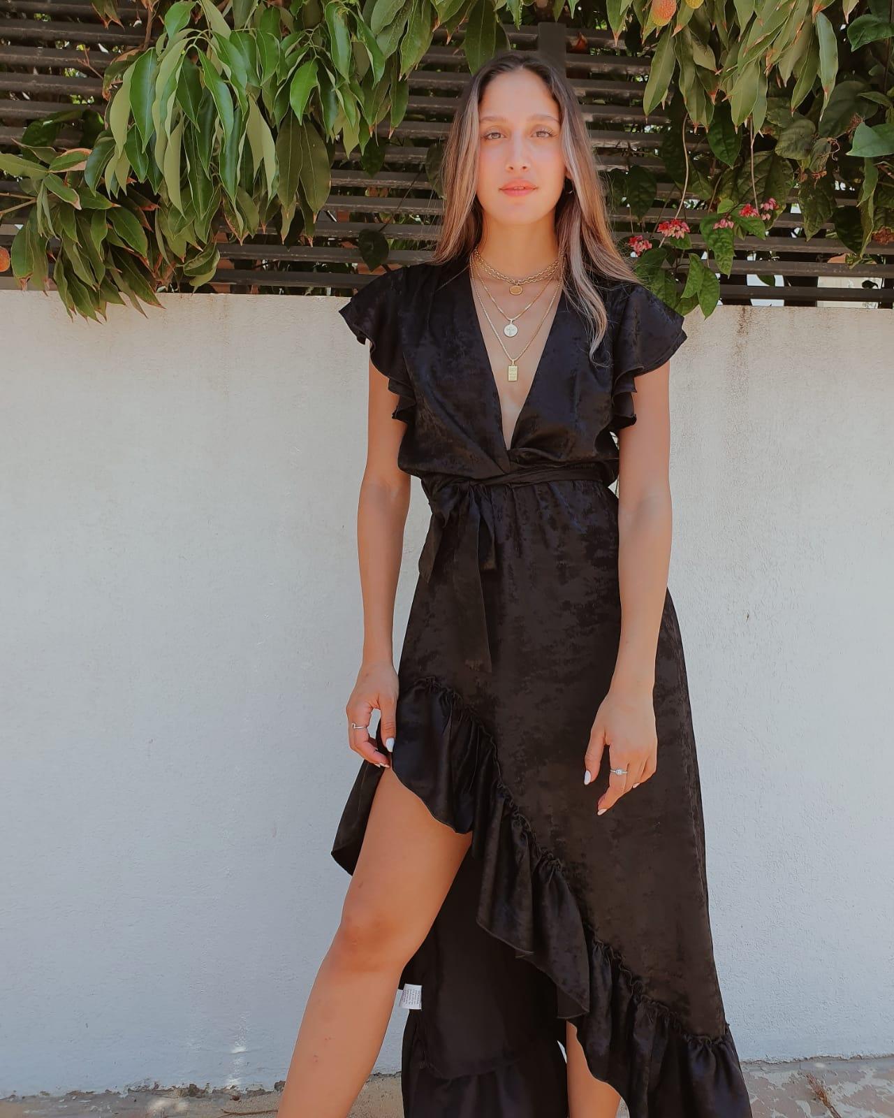 שמלת פנלופי - שחורה