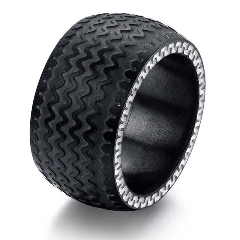 טבעת פלדה (Stainless steel) גברים ונשים צמיג רחב OP09170021IN