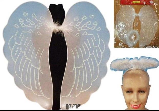 כנפיים מלאך מלמלה וכתר