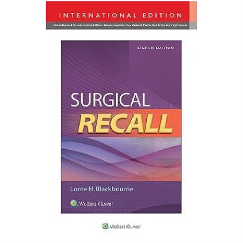 Surgical Recall 8th Edition