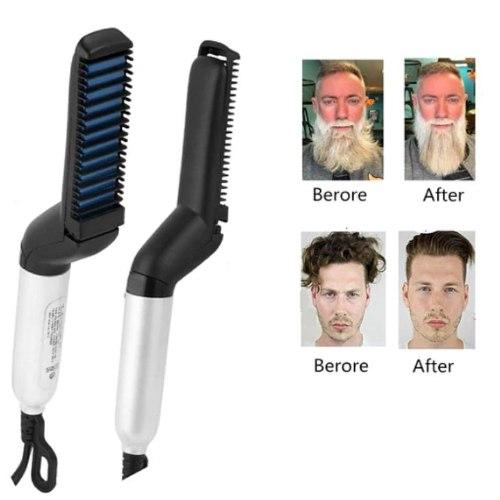 מסרק יישור מיידי לשיער ולזקן