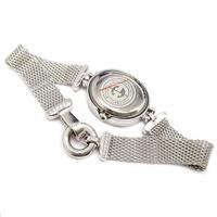 שעון מכסף לאישה משובץ אבני זרקון SH3257 | תכשיטי כסף
