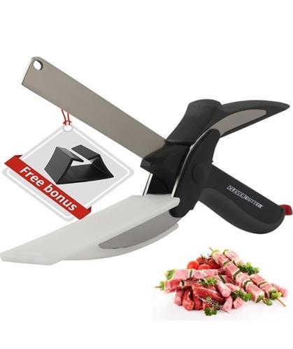 מספרי הפלא - סכין משולב קרש חיתוך