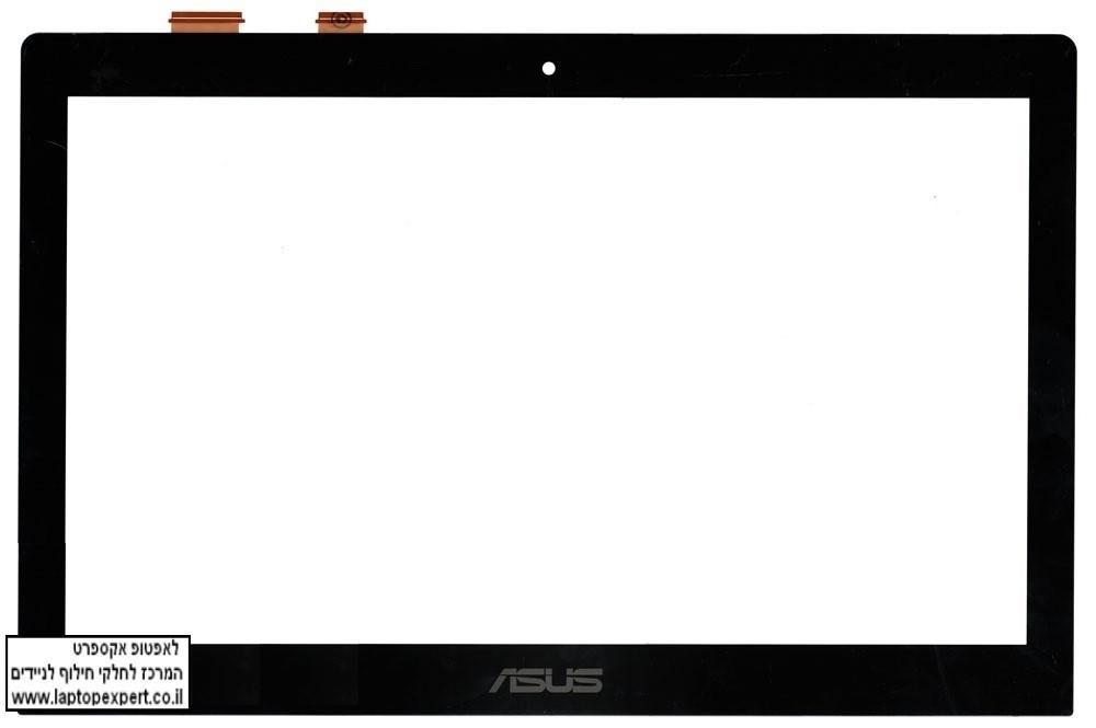 """מסך מגע טא'ץ למחשב נייד אסוס Touch Screen Digitizer FOR 15.6"""" Asus Vivobook S550 S550C S550CA TCP15F81 V0.4"""