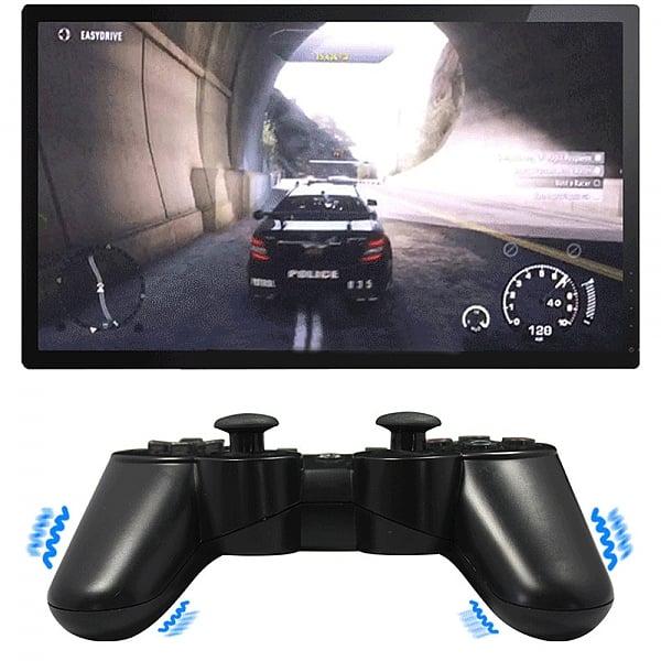 זוג שלטים אלחוטים  תואמים למקוריים לסוני פלייסטיישן 3 PS3 DualShock
