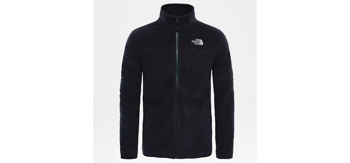 North-face Glacier 100 fleece גברים שחור