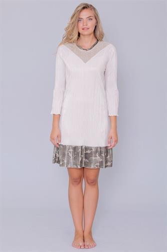 שמלת לואיזה שרוול ארוך