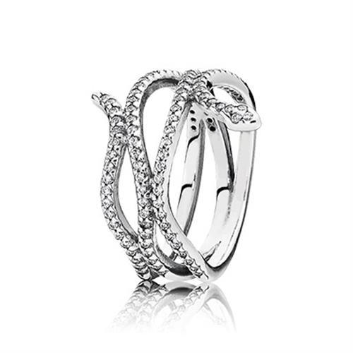 טבעת כסף פנדורה 190954CZ