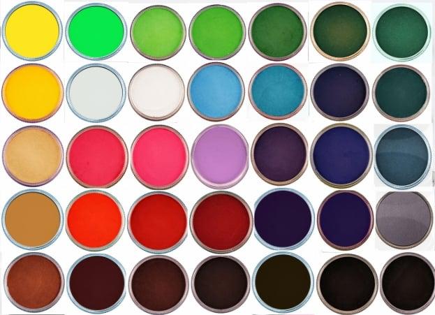 צבעי גוף מקצועיים גודל מלא חברת קמיליון  32gr Cameleonpaint