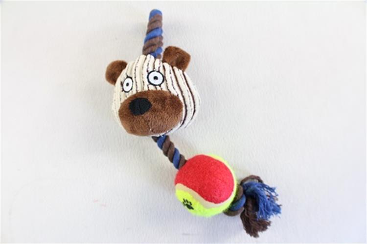 צעצוע בובה על חבל- זברה