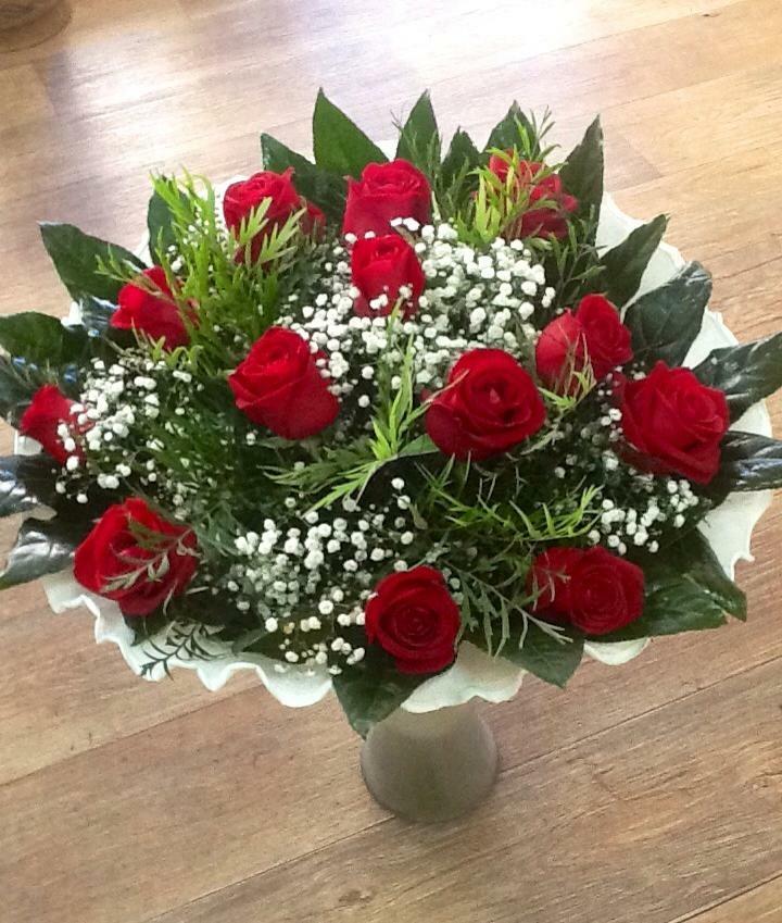זר ורדים רומנטי-מקט 012