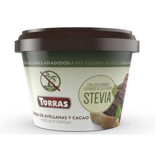 ממרח שוקולד בתוספת סטיביה