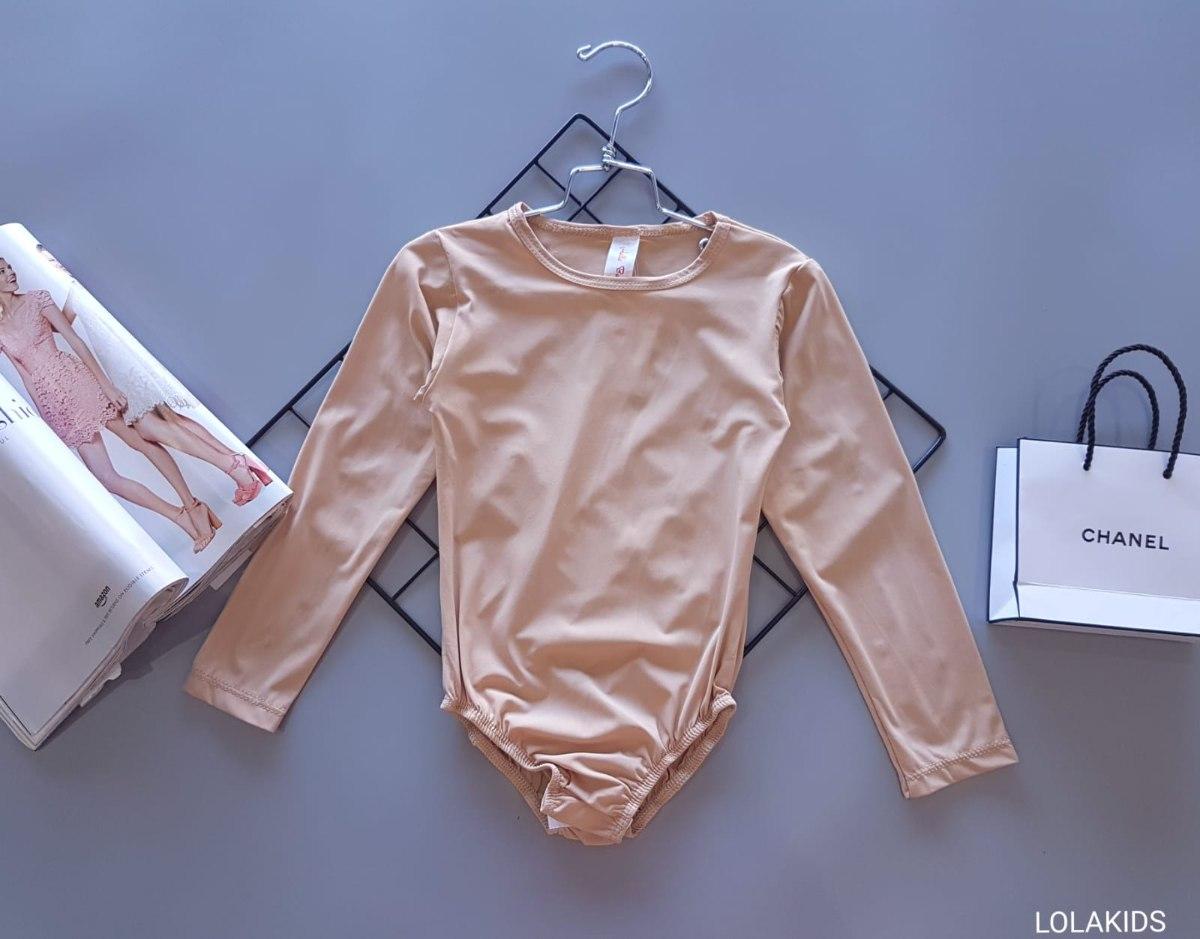 בגד גוף לייקרה צבע גוף