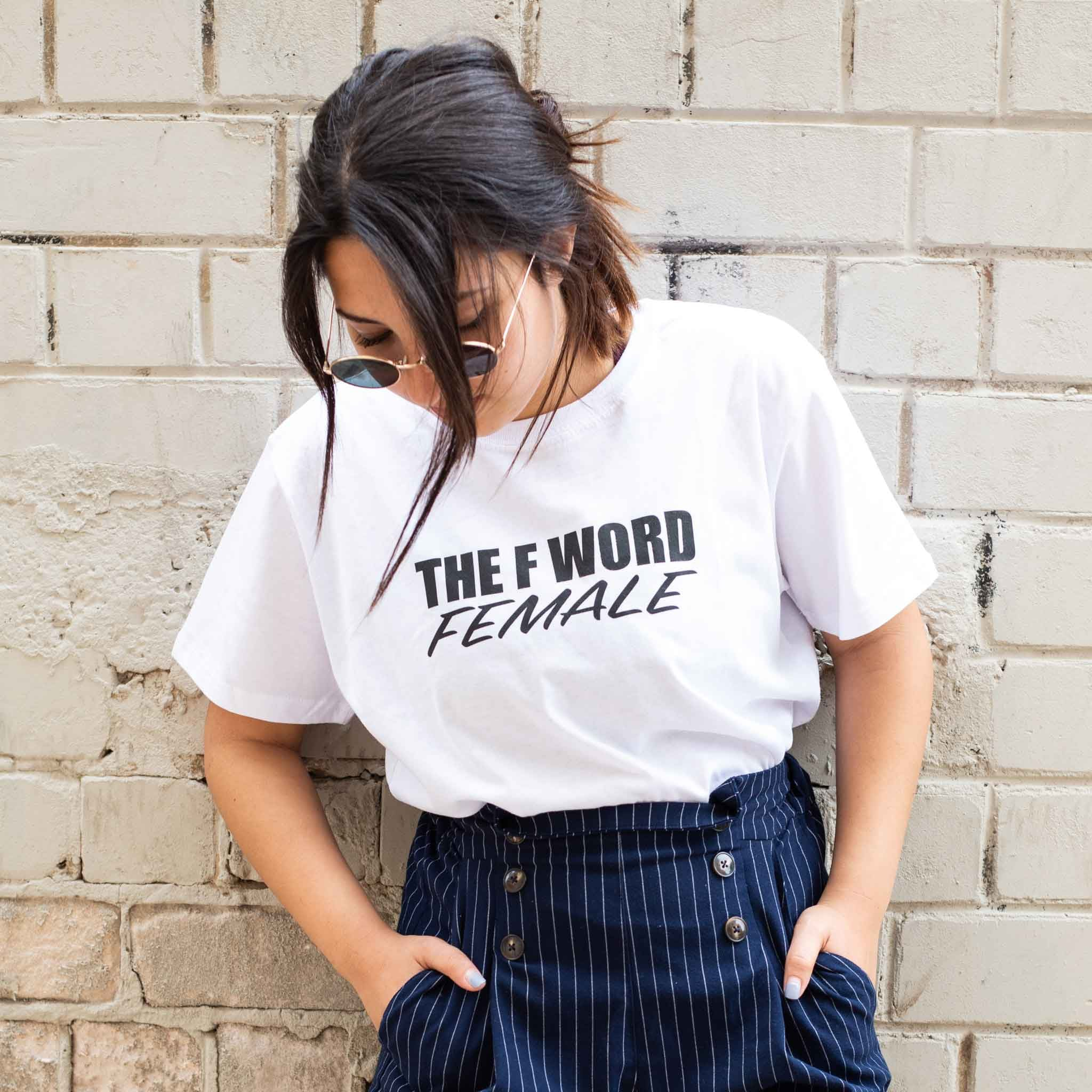 חולצת טי שירט the f word