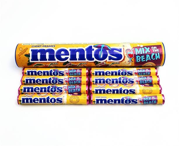 Mentos Mix Beach מארז ענק!!