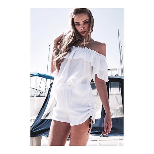 חולצת עמנואל לבנה