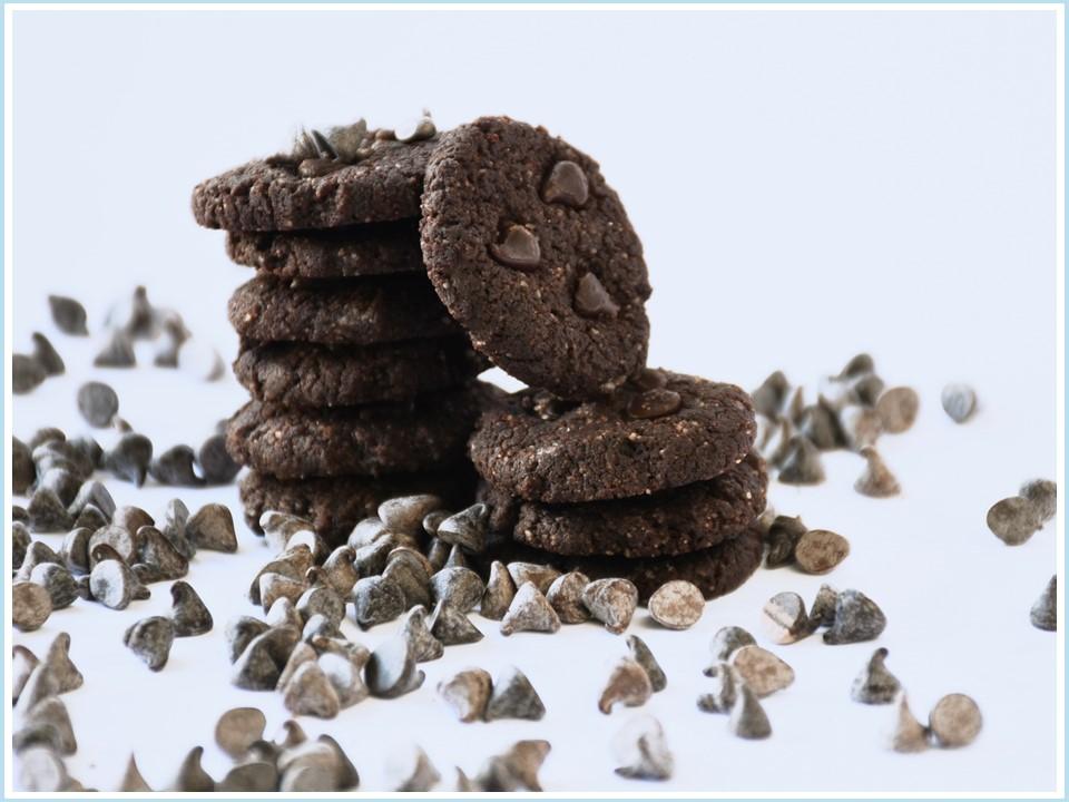 עוגיות שוקולד, טבעוני