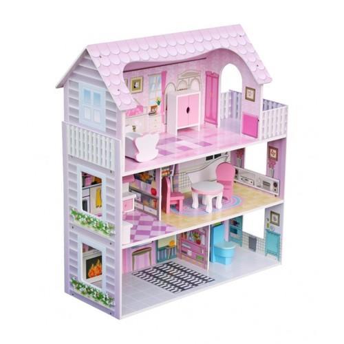 בית בובות מעץ דגם W06A139