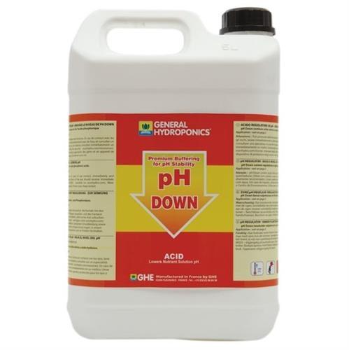 נוזל להורדת חומציות 5 ליטר GHE PH Down