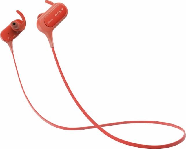 אוזניות Sony MDR-XB50BS Bluetooth, אוזניות כפתור ספורט + מיקרופון אלחוטי