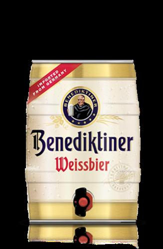 בירה בנדקטינר מיני חבית 5 ליטר