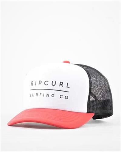 RIP CURL VALLEY LOGO TRUCKER RED