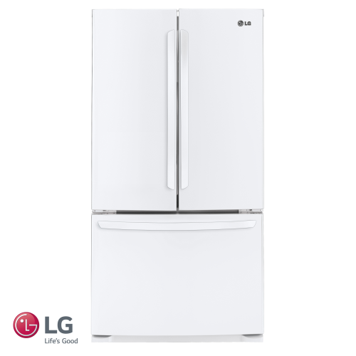 מקרר 3 דלתות LG דגם: GR-B264MAW  צבע לבן