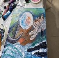 סדנת ציור אינטואיטיבי - זוגית ומשפחתית
