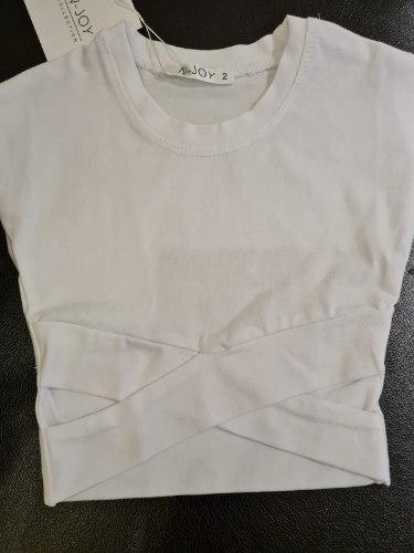 חולצת X לבנה
