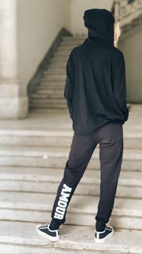 חליפת אמור שחורה