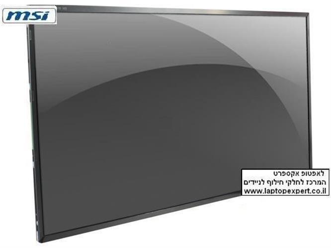 """מסך להחלפה במחשב נייד MSI X320 / X340 / X350  13.4"""" WXGA HD Slim 1366x768 Laptop Screen"""