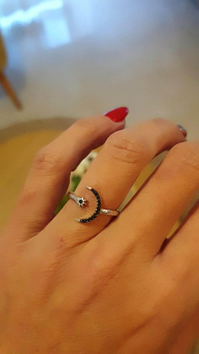 טבעת חצי ירח נפתחת