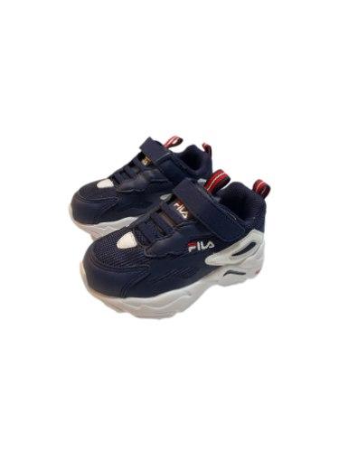 נעלי ספורט FILA כחול לבן סקוץ (22-27)