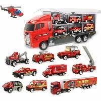 צעצוע משאית - בעלת רכבים נוספים
